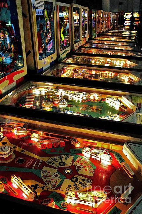 Pinball Arcade Machines are the best things ever.