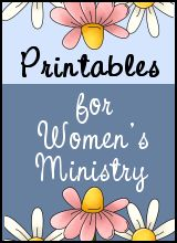 All Dolled Up! Lesson to go with Women's Ministry Doll Theme.  I took various dolls and their personalities to come up with this.  It's in a printable pdf file for you.
