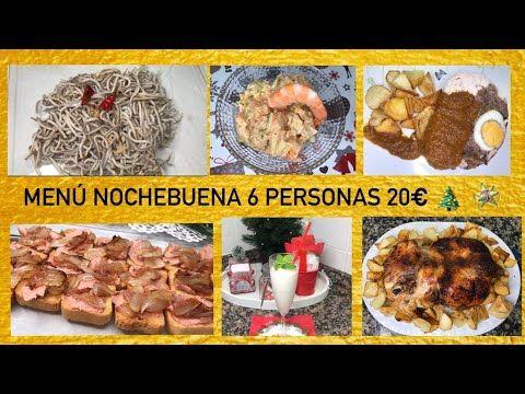 Menu Para Nochebuena 6 Personas 20 Euros Recetas Faciles Y Baratas Nochebuena Menu Navideno Recetas Faciles Baratas Comidas Semanales Menu Navideno