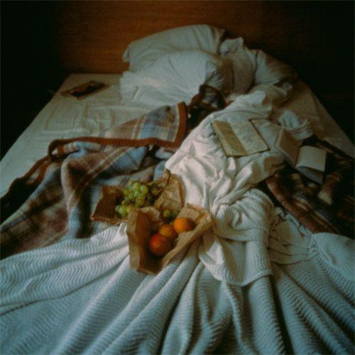 Nan goldin - My bed, hotel La Louisiane, Paris