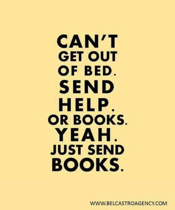 Just send books ❤️: