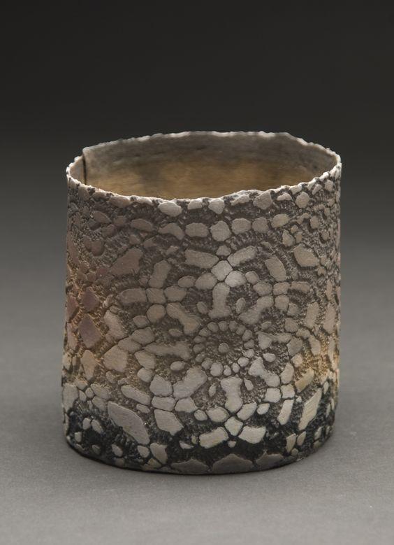 cavinmorrisgallery:  Deirdre Hawthorne The Quiet II, 2011 Saggar fired earthenware 3.25 x 3.5 inches 8.3 x 8.9 cm  DH 30