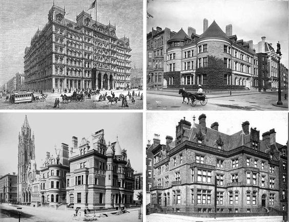"""Article via, Curbed NY, """"Eight Lost Gems of New York's Gilded Age, and What Replaced Them."""" ~~ {cwl}"""