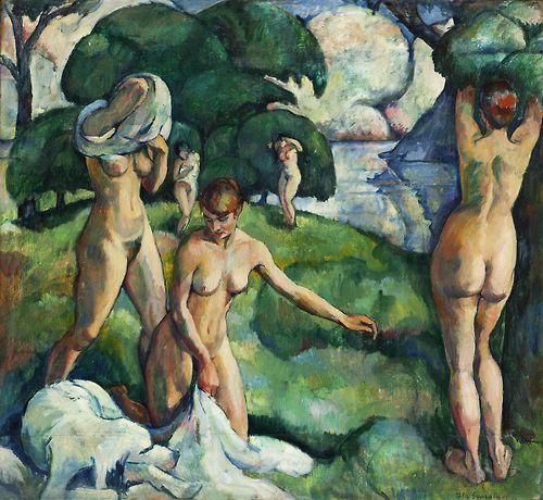 Pola Gauguin:  Composition (1917)