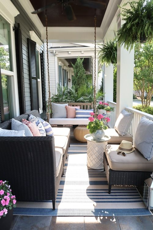 Small Front Porch Decorating 6 Unique Ideas For Summer Front