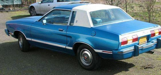 Bright Aqua Blue 1978 Ford Mustang II Ghia Coupe - MustangAttitude.com Mobile