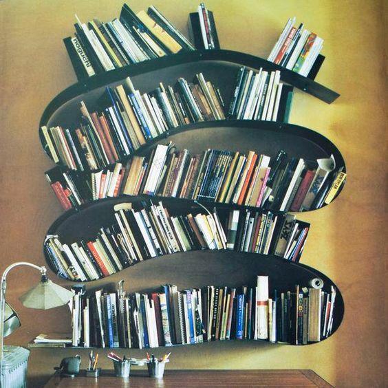 bibliothèque ondulante