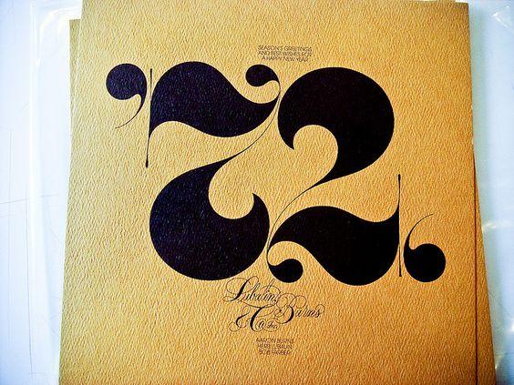 Beautiful type by Herb Lubalin