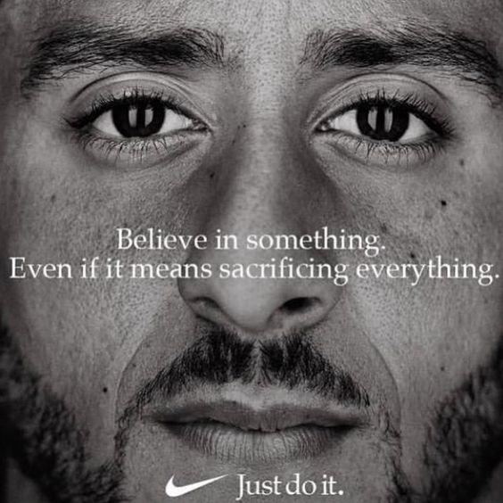 Colin Kaepernick for Nike.