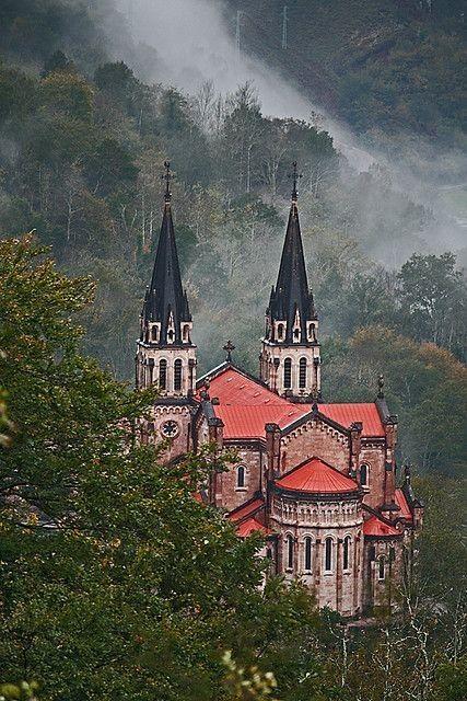 mistymorrning:  Covadonga, Cangas de Onís, Asturias, Spain