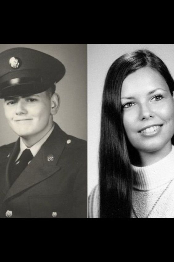 Military photo-Lloyd; High School Grad-Sue...