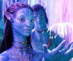 Avatar, a very beautiful scene in the movie...