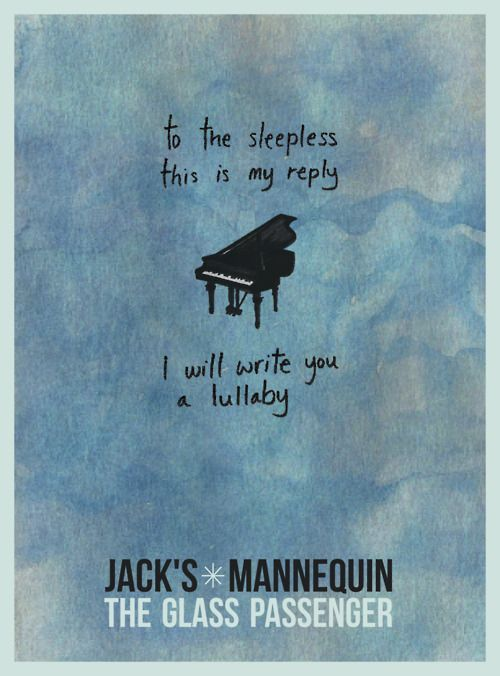 Jacks Mannequin - Hammers and Strings (a lullaby)