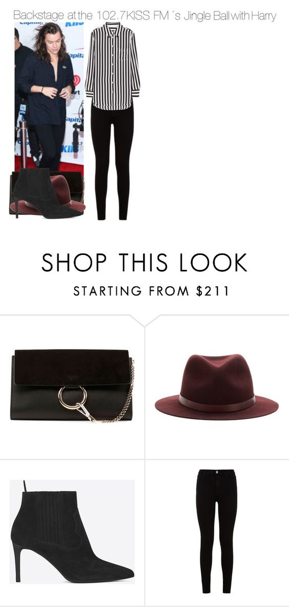"""""""Sin título #794"""" by amandasets ❤ liked on Polyvore featuring Chloé, rag & bone, Yves Saint Laurent, 7 For All Mankind and Equipment"""