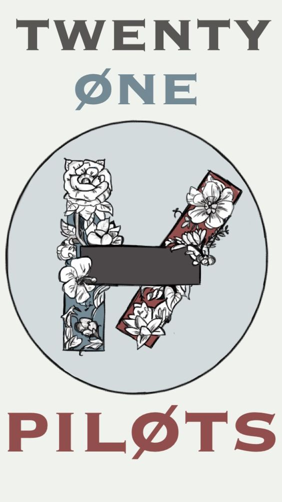 Twenty One Pilots Floral Design For A Friend My Art