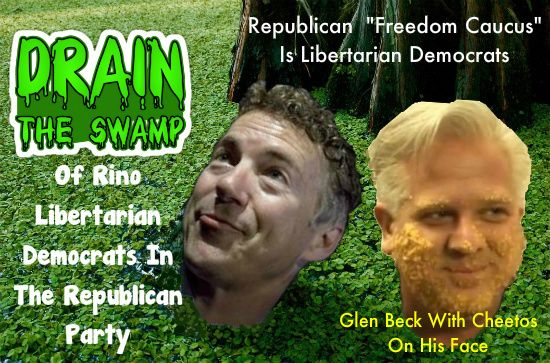 The Republican Rino's Are Proven To Be Libertarian Democrats That Infiltrated The GOP. Read Full Article Here:   http://teapartymainstreet.blogspot.com/2017/03/the-libertarian-party-operates-in-both.html: