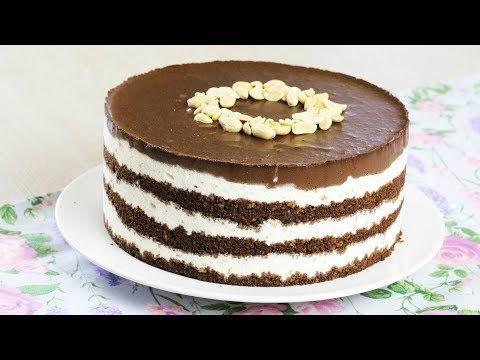 без выпечки торт сникерс рецепт с фото