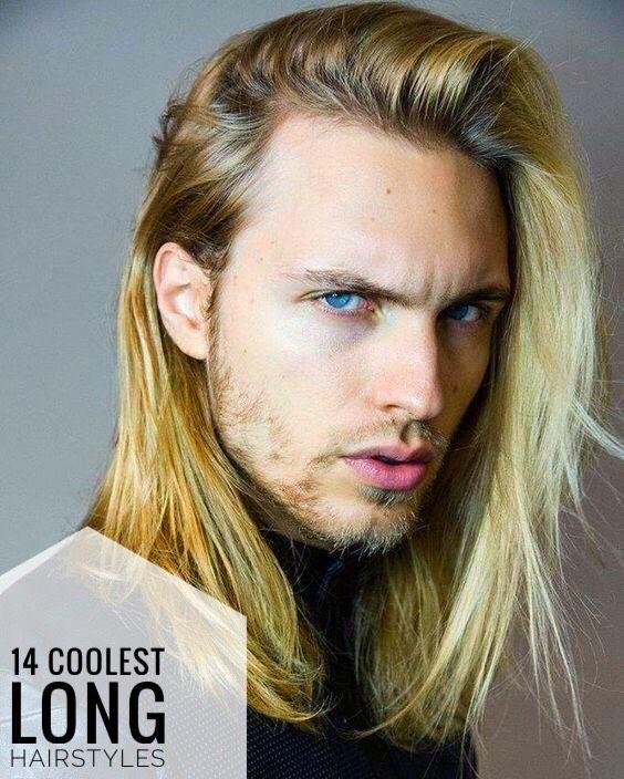 14 Coolest Long Hairstyles For Men Gaya Rambut Pria Gaya Rambut Pria Rambut Panjang