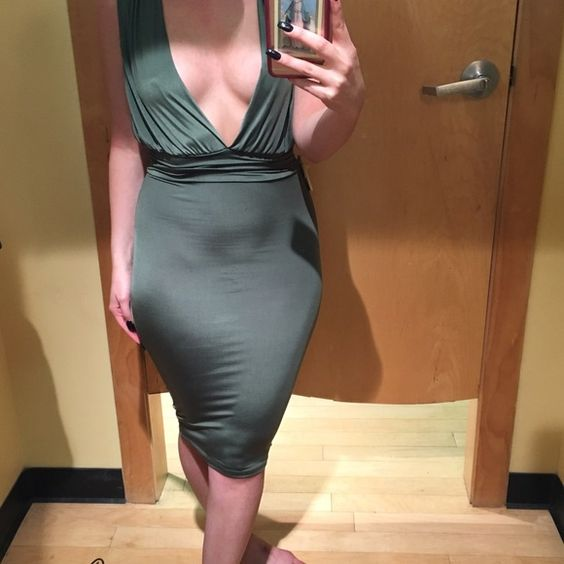 Brand new! Sexy dress Brand new dress! Very sexy and revealing.. Back is as low as the front. It's also pretty stretchy. WINDSOR Dresses