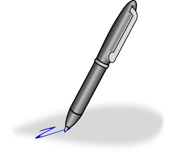 Pens Clipart Clip Art Free Clip Art Line Art Images