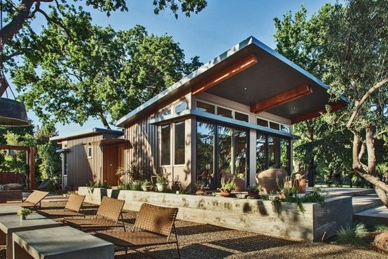 1100 Sq Ft Modern Prefab Home In Napa Ca Photo Love