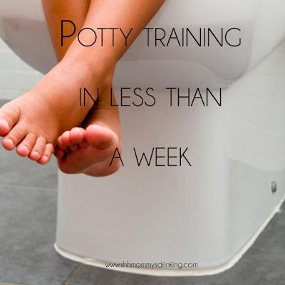 Potty Training - what worked for us in less than a week
