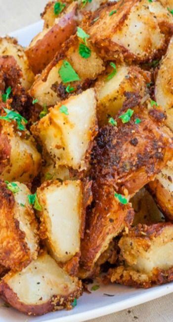 Italian Parmesan Roasted Potatoes | Recipe | Potatoes ...