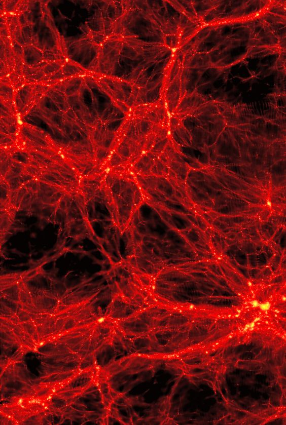 This is one of the most beautiful images I've ever seen. The large scale structure of galactic superclusters