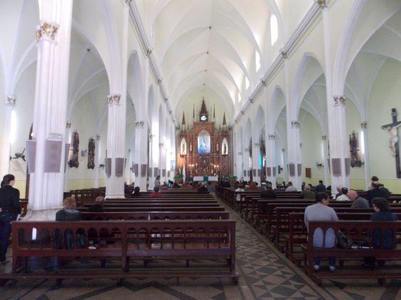 Interior da Igreja Matriz- Alegrete