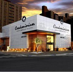 fachadas de lojas comerciais