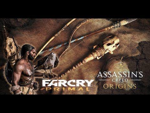 Assassin S Creed Origins Pacchetto Far Cry Primal Piu Esteso