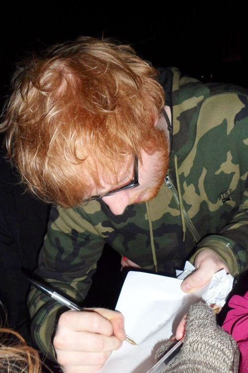 that's either balding ed or bad light | Ed Sheeran ...