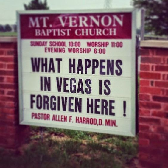 12 Insanely Funny Church Signs | 12 Things Daily