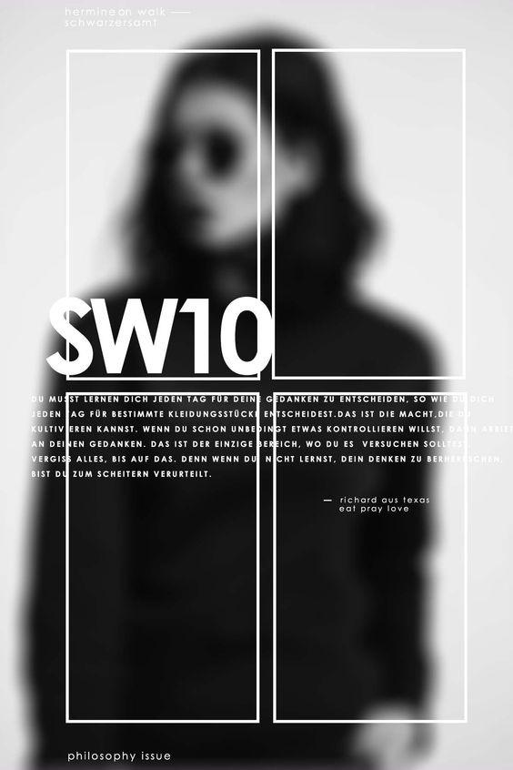 Ich zeige euch wie man tolle Graphic Design entwerfen und vorhandene Kenntnisse durch leichte Tricks verbessern kann. Schaut gleich vorbei ! Hermine on walk   Graphic Design   Magazine Cover   Typography