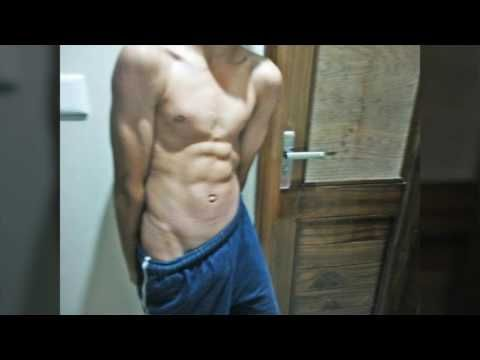 14 Year Old Flexing Abs V Line And Biceps Abs Workout Gym V Line Abs Workout Routine For Men