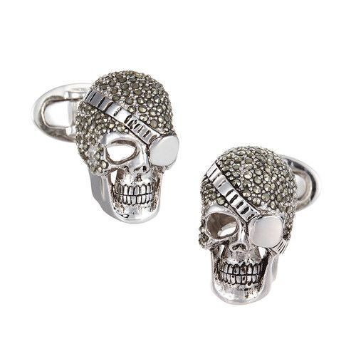 Skull Pirate Cufflinks