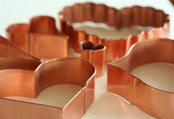 copper heart cookie cutters - Google Search