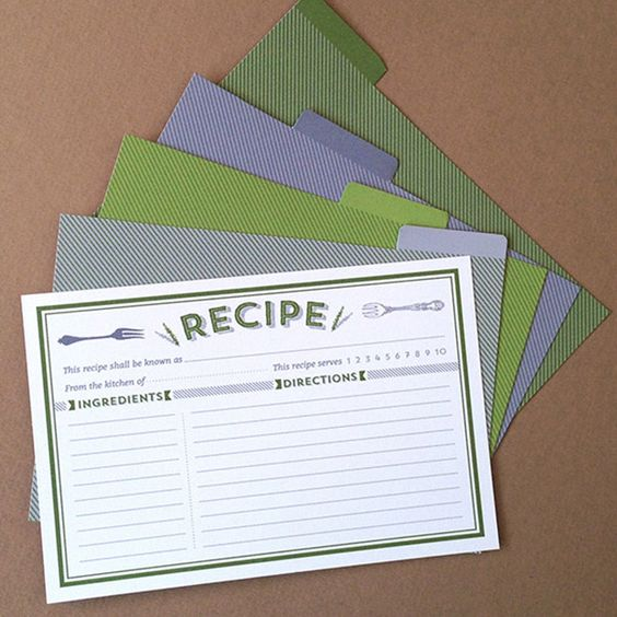 Recipe cards recipe card templates and card templates on pinterest