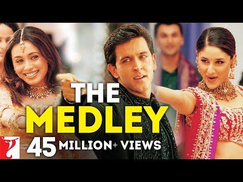 The Medley Full Song Mujhse Dosti Karoge Hrithik Roshan Kareena Kapoor Rani Mukerji Youtube Hrithik Roshan Songs Songs To Sing