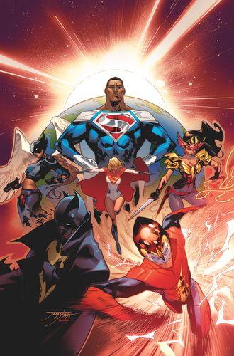 EARTH_2_SOCIETY_VOL._1_PLANETFALL_TP : raíz de su guerra devastadora con Apokolips, 12 barcos de los sobrevivientes tienen la oportunidad de reconstruir la Tierra-2 en un doble planeta, pero la lucha no ha terminado.  ¿Cómo va a Superman, Batman, Linterna Verde, Flash, Chica Halcón y sus aliados reconstruir una sociedad totalmente nueva?   masacre80