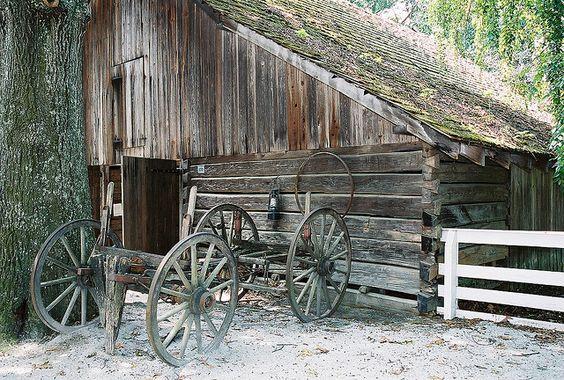 Barn in Stone Mountain State Park  Stone Mountain, GA