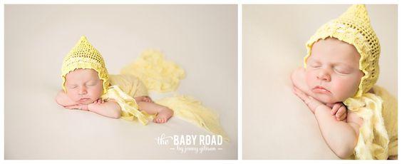 Roseburg Oregon On Location Newborn Photographer Baby in Vintage Handmade Bonnet