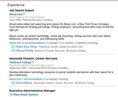 Use These Simple Tips to Make a Better LinkedIn Profile Tips - information technology intern job description