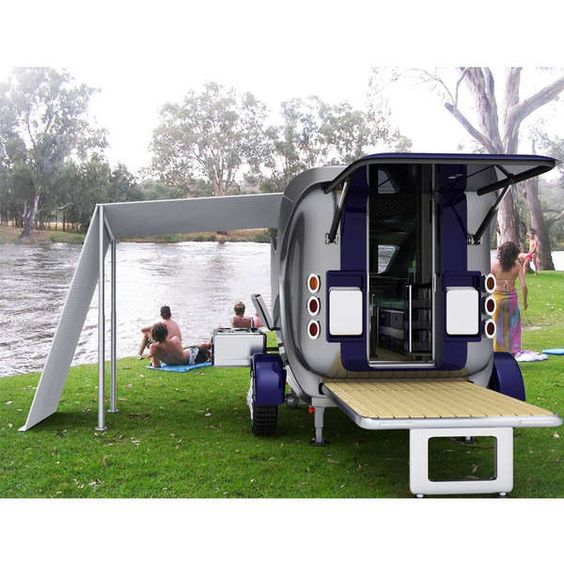 Campers The Minimalist And Luxury Rv On Pinterest