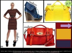 my primary-color, Mulberry moment, oh, and major yellow from Asos: http://bit.ly/HlbJPF