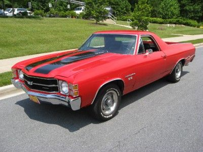 1971 Chevrolet El Camino SS Seems like Ive seen this in my garage