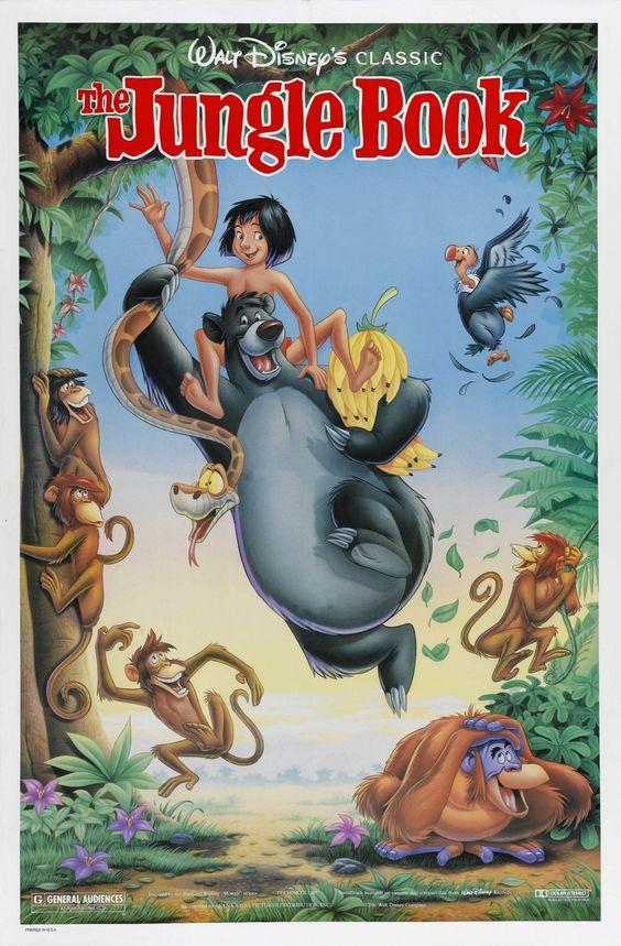 "The Jungle Book.  My favorite Disney Animated movie.  ""Bare Necessities"""