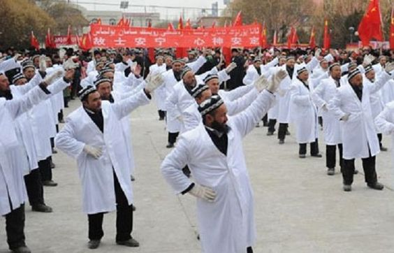 China Forces Muslim Leaders To Dance Publicly and Swear They will Not Teach SHARIA LAW To Kids