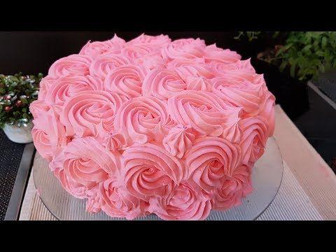 تورتة عيد ميلاد للمبتدئين اطيب وصفة كيك ممكن تعملوها هشة واسفنجيه Youtube Cake Birthday Cake Desserts