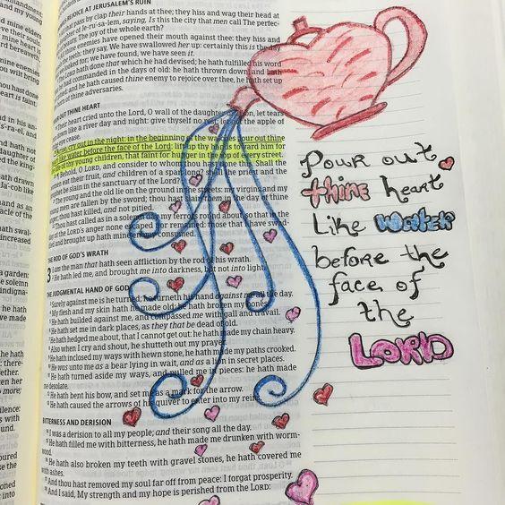 #biblejournaling #illustratedfaith by tammiestarrshumate